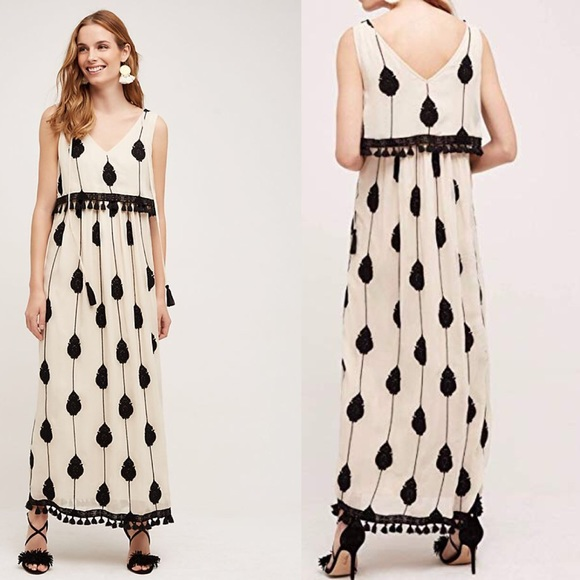7aa4c086a7f Anthropologie Dresses   Skirts - Anthropologie Embroidered Medallion Maxi  Dress